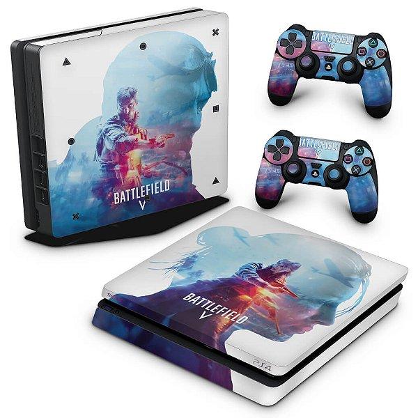 PS4 Slim Skin - Battlefield V