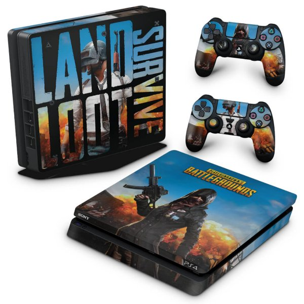 PS4 Slim Skin - Players Unknown Battlegrounds PUBG