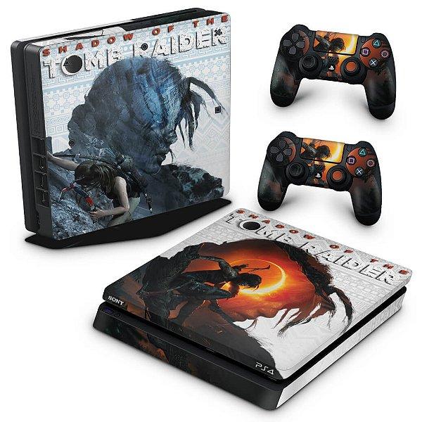 PS4 Slim Skin - Shadow Of The Tomb Raider