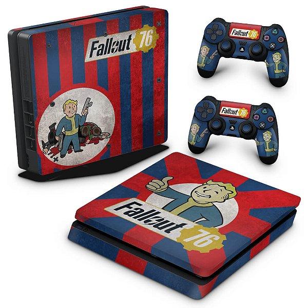PS4 Slim Skin - Fallout 76