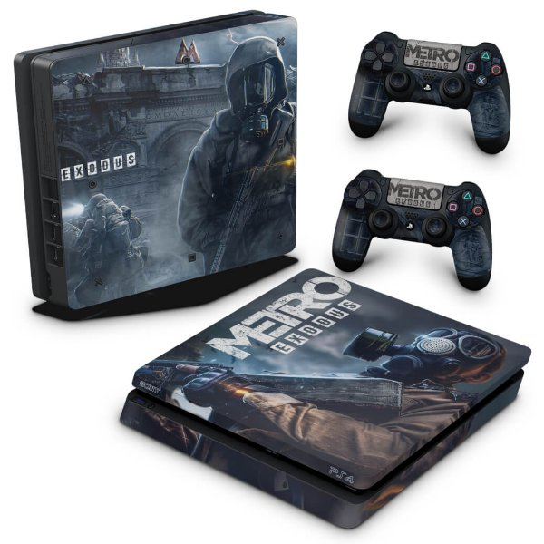 PS4 Slim Skin - Metro Exodus