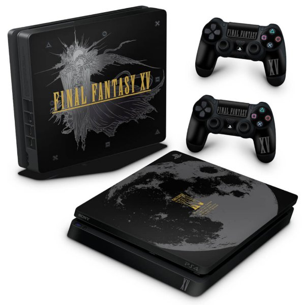 PS4 Slim Skin - Final Fantasy XV Bundle