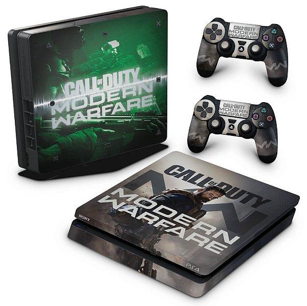 PS4 Slim Skin - Call Of Duty Modern Warfare
