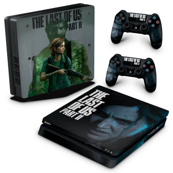 PS4 Slim Skin - The Last Of Us Part 2 II B