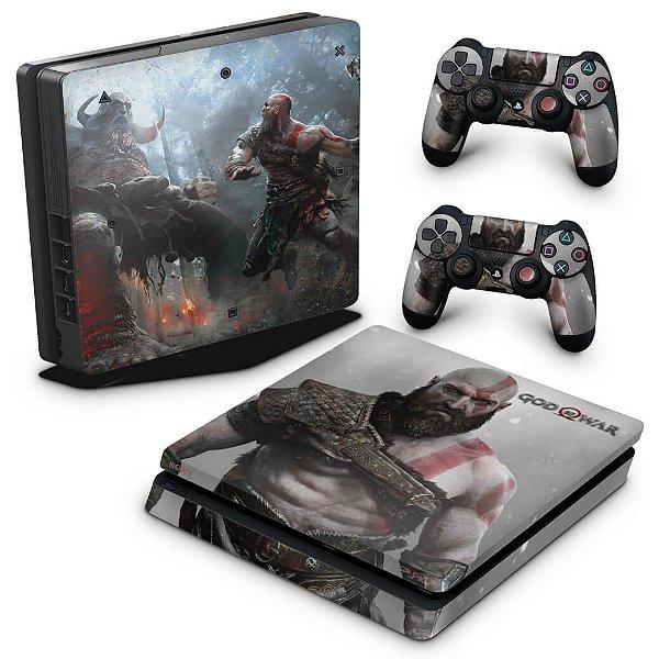 PS4 Slim Skin - God Of War #B