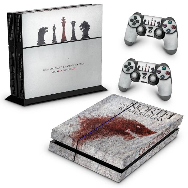 Ps4 Fat Skin - Game of Thrones #A