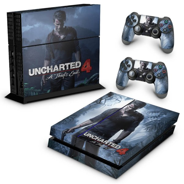 Ps4 Fat Skin - Uncharted 4