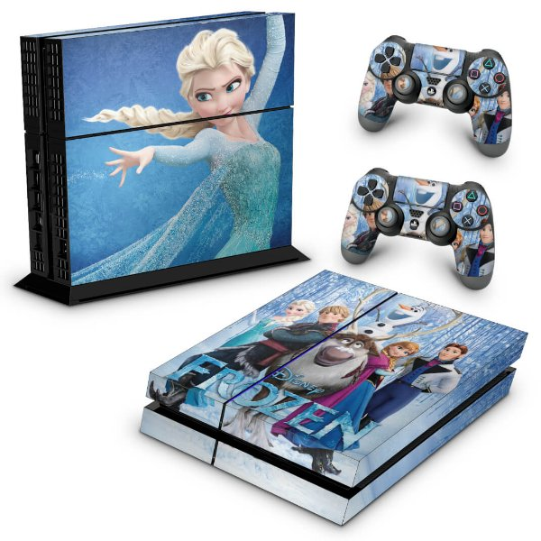 Ps4 Fat Skin - Frozen