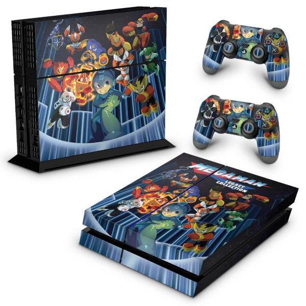 Ps4 Fat Skin - Megaman Legacy Collection
