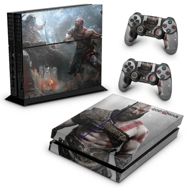 Ps4 Fat Skin - God Of War #B