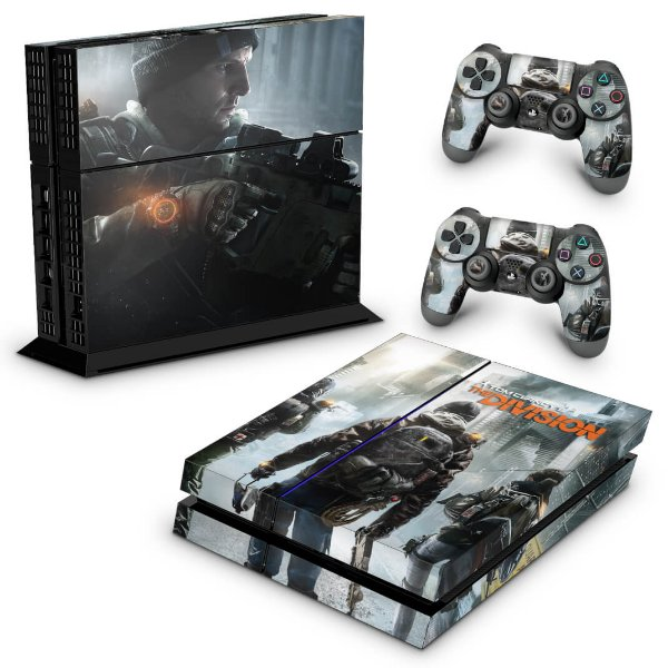 Ps4 Fat Skin - Tom Clancy's The Division