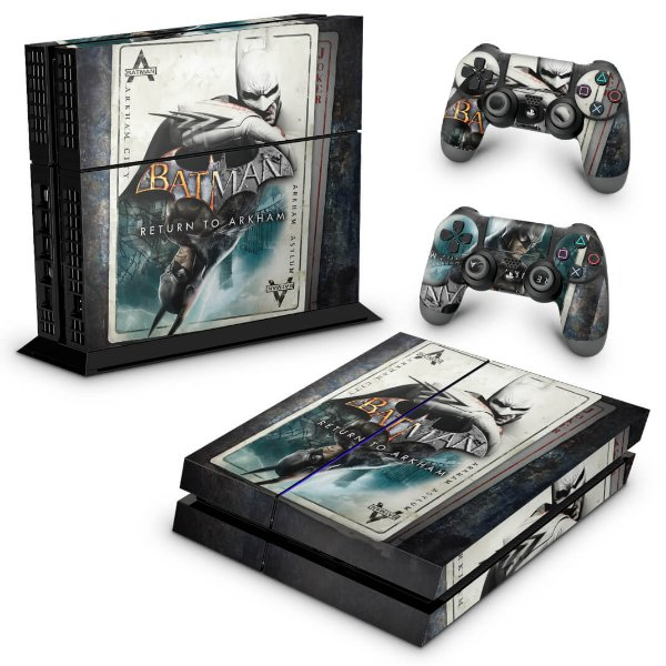 Ps4 Fat Skin - Batman Return to Arkham