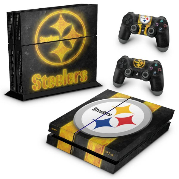 PS4 Fat Skin - Pittsburgh Steelers - NFL
