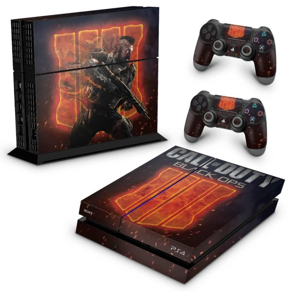 Ps4 Fat Skin - Call of Duty Black Ops 4