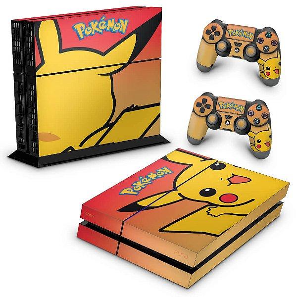 Ps4 Fat Skin - Pokemon Pikachu