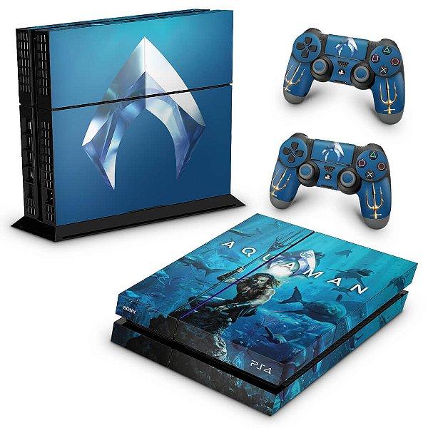 PS4 Fat Skin - Aquaman
