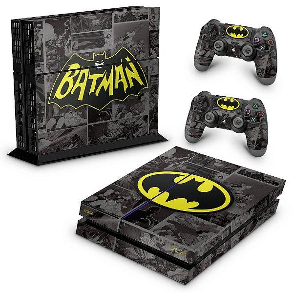 PS4 Fat Skin - Batman Comics