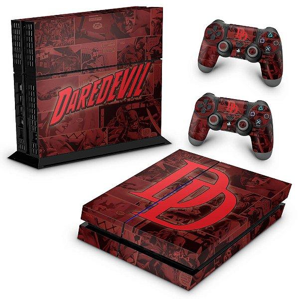PS4 Fat Skin - Daredevil Demolidor Comics