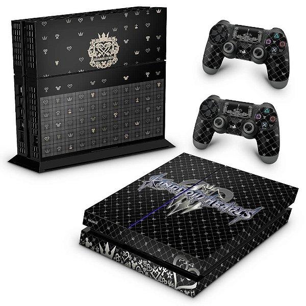 PS4 Fat Skin - Kingdom Hearts 3 III