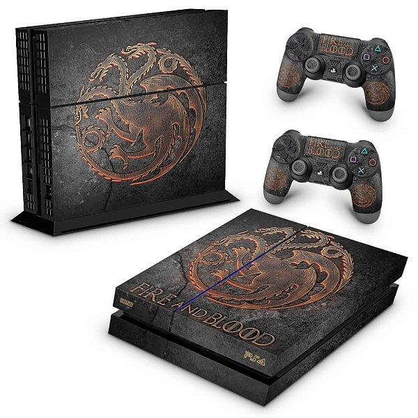 PS4 Fat Skin - Game of Thrones Targaryen