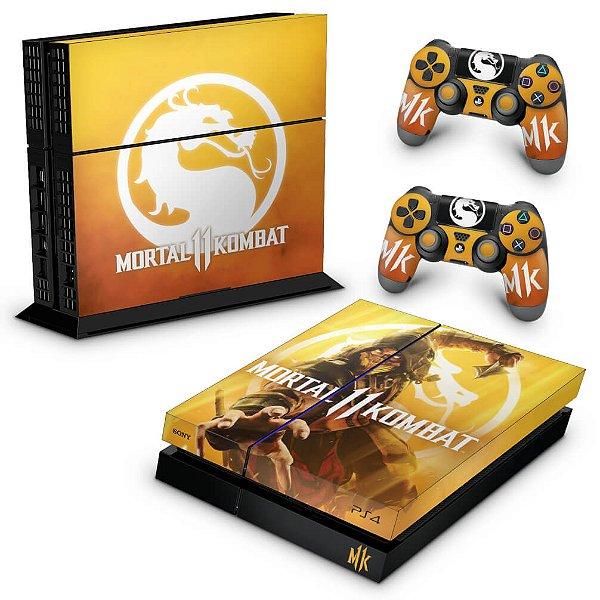 PS4 Fat Skin - Mortal Kombat 11