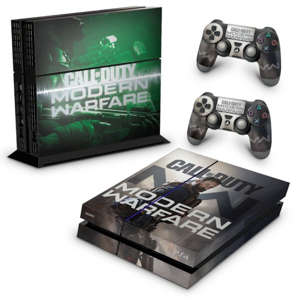 PS4 Fat Skin - Call Of Duty Modern Warfare