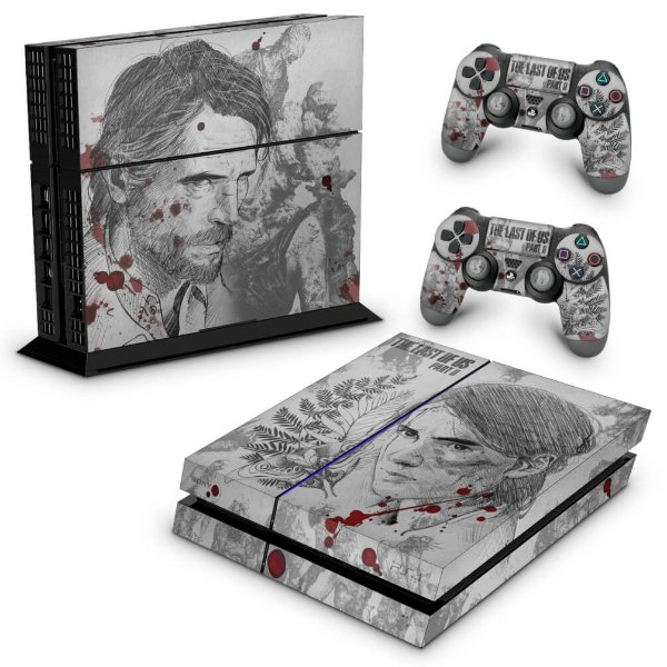 PS4 Fat Skin - The Last Of Us Part 2 II