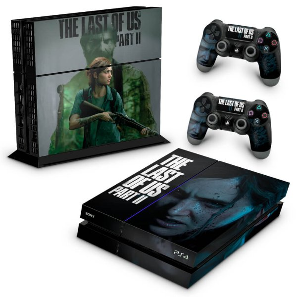 PS4 Fat Skin - The Last Of Us Part 2 II B
