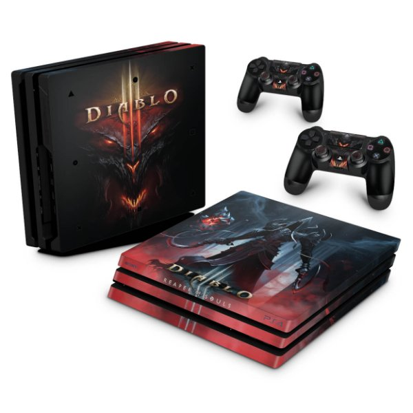 PS4 Pro Skin - Diablo