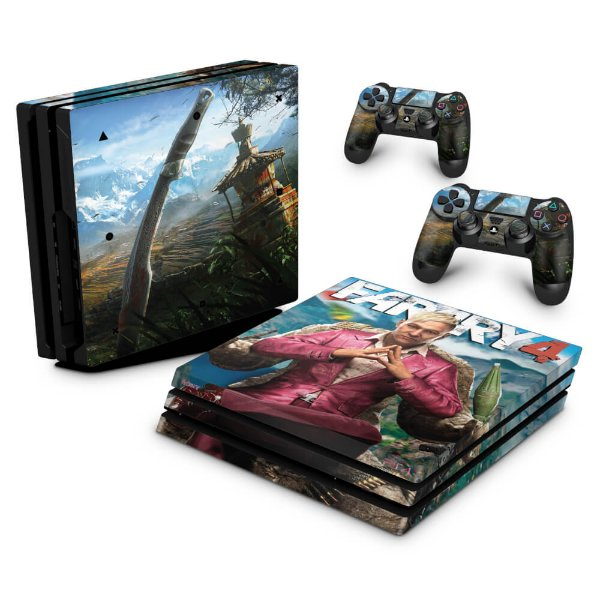 PS4 Pro Skin - Far Cry 4