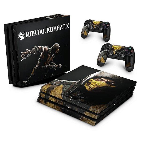 PS4 Pro Skin - Mortal Kombat X