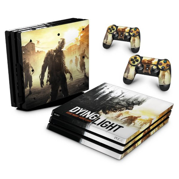 PS4 Pro Skin - Dying Light