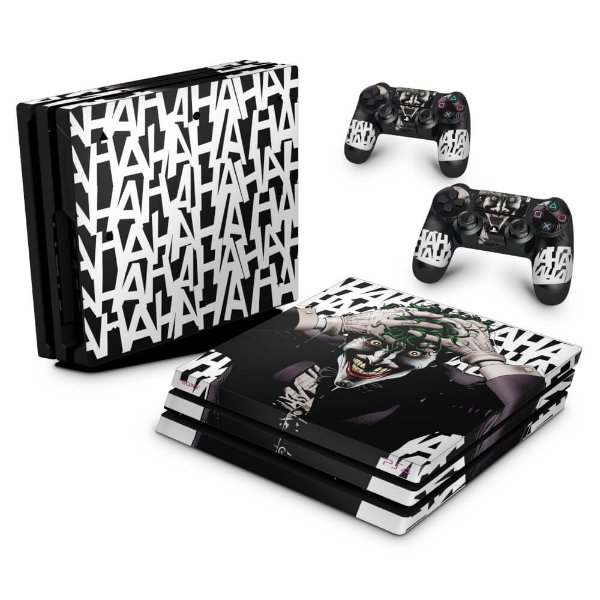PS4 Pro Skin - Joker Coringa Batman