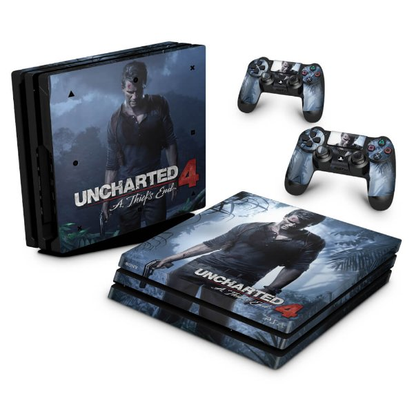 PS4 Pro Skin - Uncharted 4