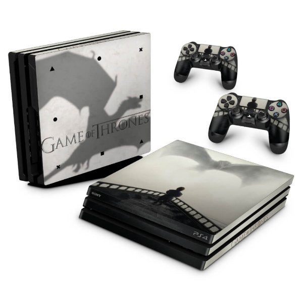 PS4 Pro Skin - Game of Thrones #B
