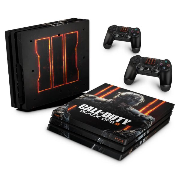 PS4 Pro Skin - Call of Duty Black Ops 3