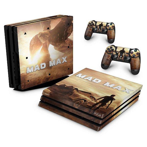 PS4 Pro Skin - Mad Max