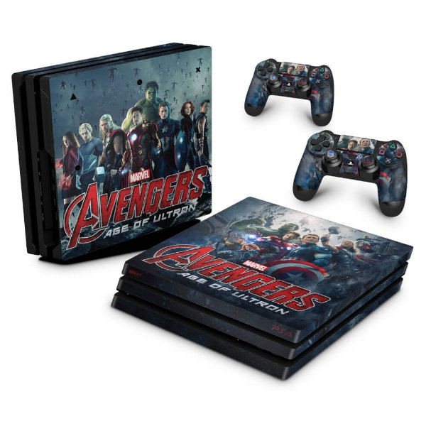 PS4 Pro Skin - Avengers - Age of Ultron