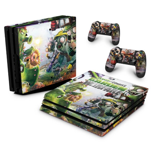 PS4 Pro Skin - Plants Vs Zombies Garden Warfare