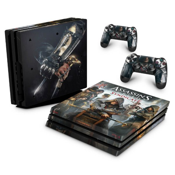 PS4 Pro Skin - Assassins Creed Syndicate