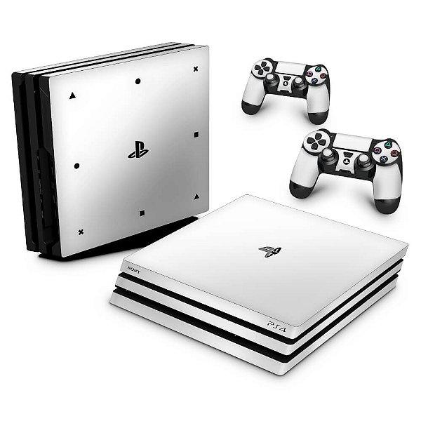 PS4 Pro Skin - Branco