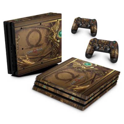 PS4 Pro Skin - Pandora's Box God Of War