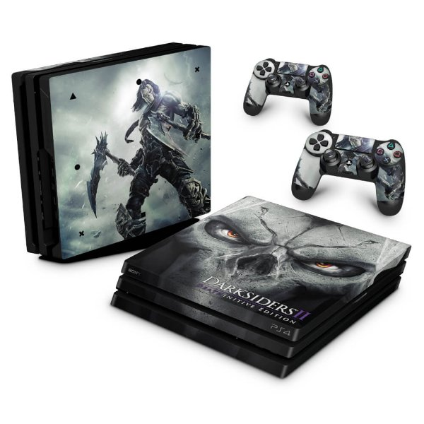 PS4 Pro Skin - Darksiders Deathinitive Edition