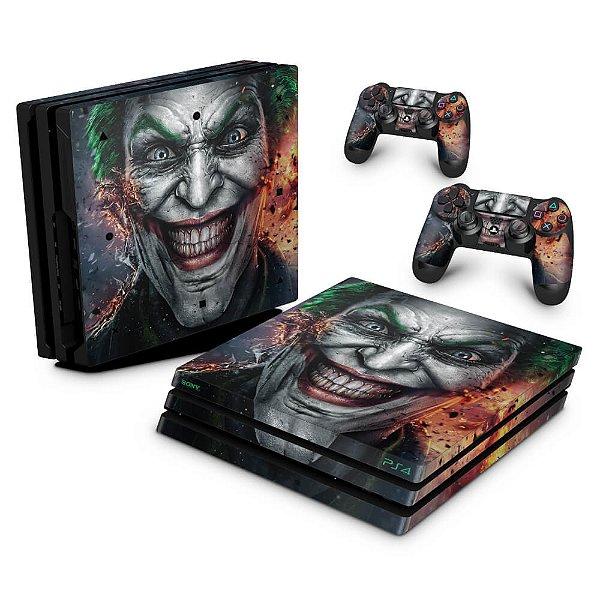 PS4 Pro Skin - Coringa Joker