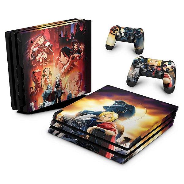 PS4 Pro Skin - Fullmetal Alchemist: Brotherhood
