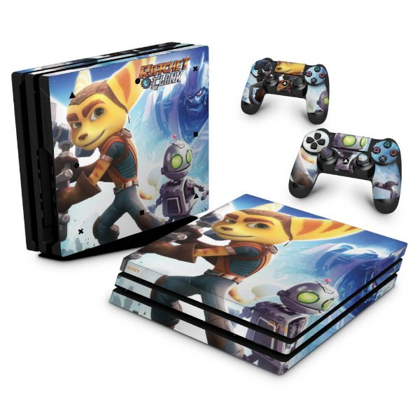 PS4 Pro Skin - Ratchet & Clank