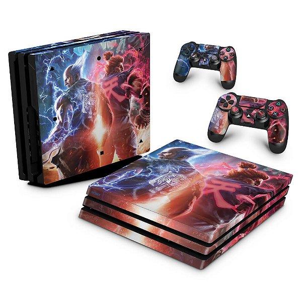 PS4 Pro Skin - Tekken 7