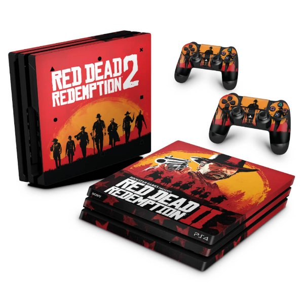 PS4 Pro Skin - Red Dead Redemption 2