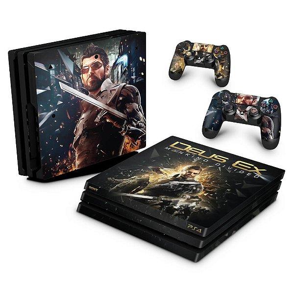PS4 Pro Skin - Deus Ex: Mankind Divided