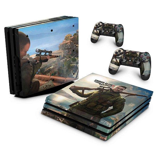 PS4 Pro Skin - Sniper Elite 4